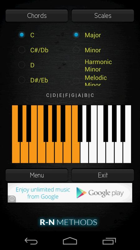 Piano Chords And Scales APK Download - Free Music & Audio APP for ...