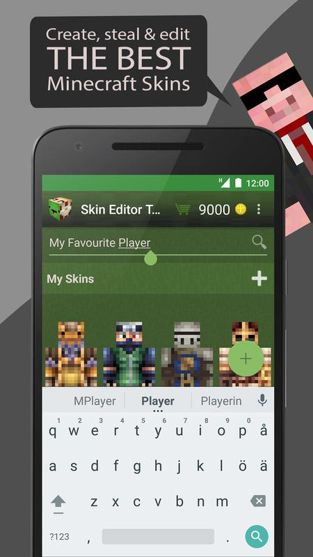 skin editor tool for minecraft apk download free