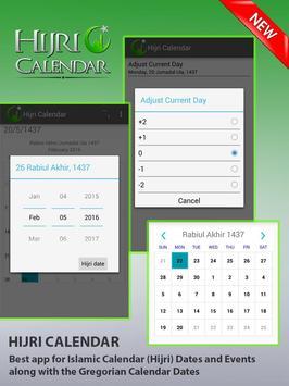 Hijri Calendar With Widget apk screenshot