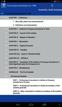 Company Secretaries Act 1980 poster