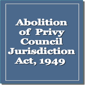 Abolition of Privy Council Act icon