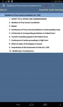 Abolition of Privy Council Act apk screenshot