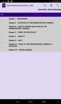 Administrators-General Act1963 apk screenshot