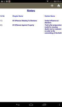 Indian Penal Code apk screenshot