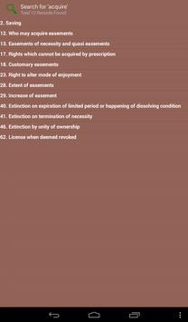 Indian Easement Act 1882 apk screenshot