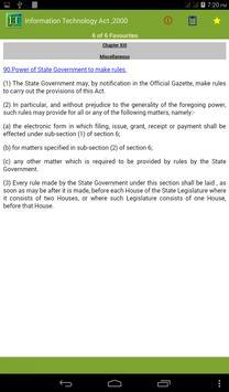 Information Technology Act apk screenshot