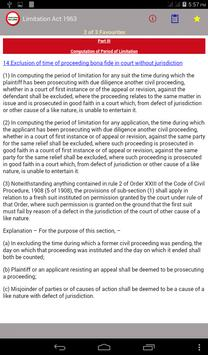 Limitation Act 1963 apk screenshot