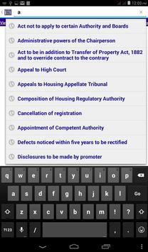 Maharashtra Housing Act 2012 apk screenshot