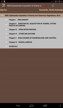 SEBI Takeovers Regulations poster