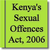 Kenya's Sexual Offences Act icon