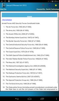 Sexual Offenses Act 2012 apk screenshot