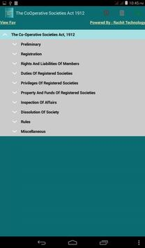 The Co-Operative Societies Act poster