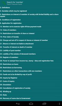 The Co-Operative Societies Act apk screenshot