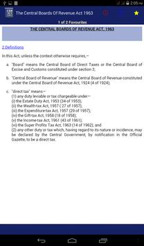 Central Boards Of Revenue Act apk screenshot