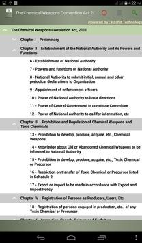 Chemical Weapons ConventionAct apk screenshot