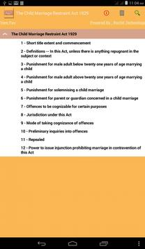 Child Marriage Restraint Act poster