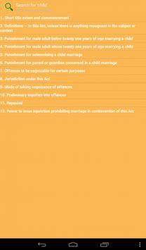Child Marriage Restraint Act apk screenshot
