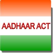 India - The Aadhaar Act 2016 icon