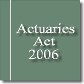 The Actuaries Act 2006 icon