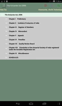 The Actuaries Act 2006 apk screenshot