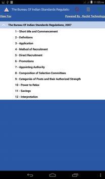 Bureau Of Indian Regulations apk screenshot