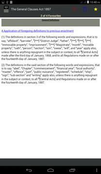 The General Clauses Act, 1897 apk screenshot