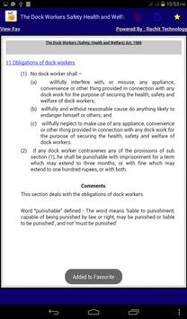 The Dock Workers Safety Act apk screenshot
