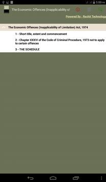 The Economic Offences Act 1974 poster