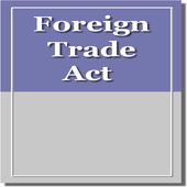 The Foreign Trade Act 1992 icon