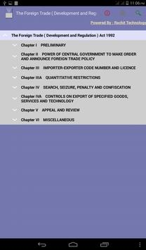 The Foreign Trade Act 1992 poster