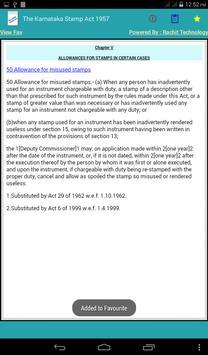 The Karnataka Stamp Act 1957 apk screenshot