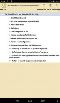 The Hindu Minority Act 1956 poster