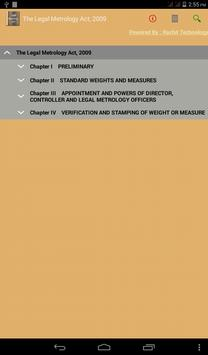 The Legal Metrology Act 2009 apk screenshot