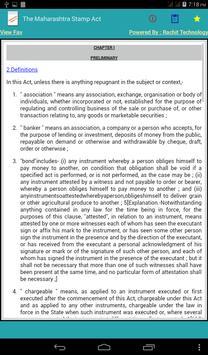 The Maharashtra Stamp Act apk screenshot