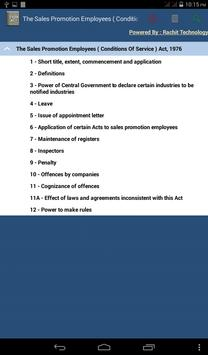Sales Promotion Employees Act apk screenshot