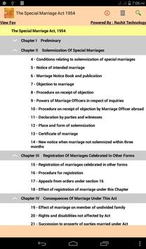 The Special Marriage Act 1954 poster