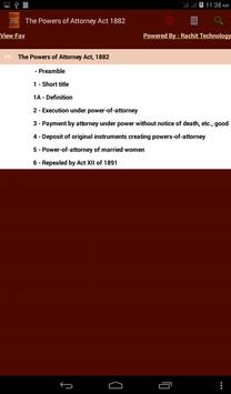 Powers of Attorney Act 1882 poster