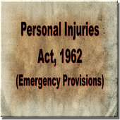 The Personal Injuries Act 1962 icon