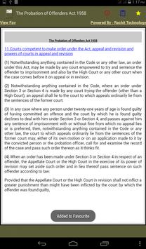 The Probation of Offenders Act apk screenshot