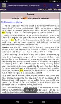 The Recovery of Debts Act 1993 apk screenshot