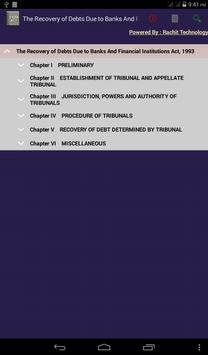 The Recovery of Debts Act 1993 poster