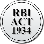 The Reserve Bank of India Act icon