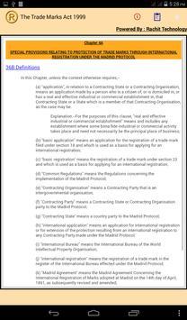 The Trade Marks Act 1999 apk screenshot