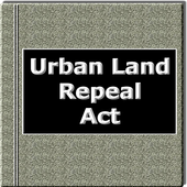 The Urban land Repeal Act 1999 icon