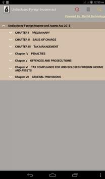 Undisclosed Foreign Income act poster