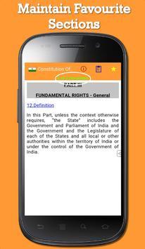 Constitution Of India apk screenshot