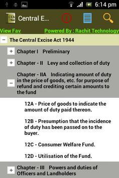 Central Excise Act &Rules 1944 poster