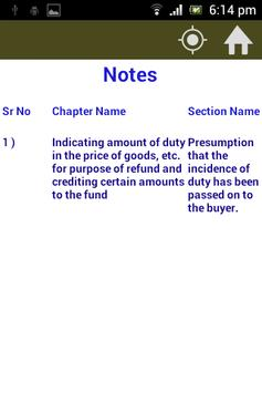 Central Excise Act &Rules 1944 apk screenshot