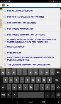 Right To Information 2005 apk screenshot
