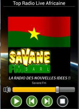 Radios Burkina poster